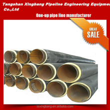 pvc coated api epoxy coated black welded spiral steel pipe