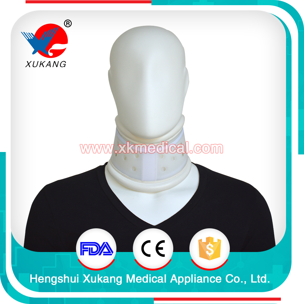 High quality breathable support ODM&OEM hard collars plastic cervical collar neck brace for hot sale