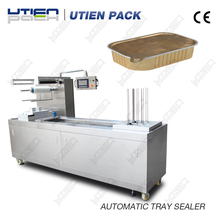China supplier FSC420 Automatic Continious tray sealing machine