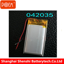 Factory directly sale 3.7v li-polymer battery 032323 042030 052030 063048 063450 li-ion battery for bluetooth headset