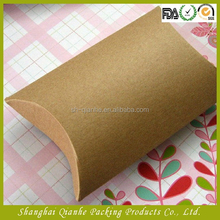 High quality kraft paper made pillow gift box