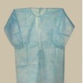 Disposable PP nonwoven apron with sleeve and belt