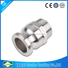304/316 stainless steel fire hose coupling pipe fittings