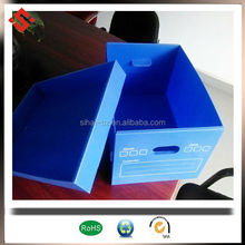 plastic pillow box packaging coroplast pp recycled plastic large box packaging