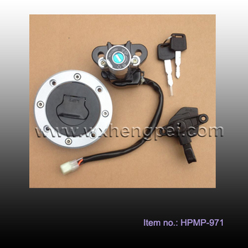 motorcycle ignition lock set and fuel tank , ignition lock kit for GSF600 , motorcycle parts