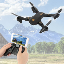 Hot XS809W Mini Foldable Helicopter with 2.0MP Camera HD RTF RC Selfie Drone 720P Wide Angle Wifi FPV Altitude Hold RC Quadcopte