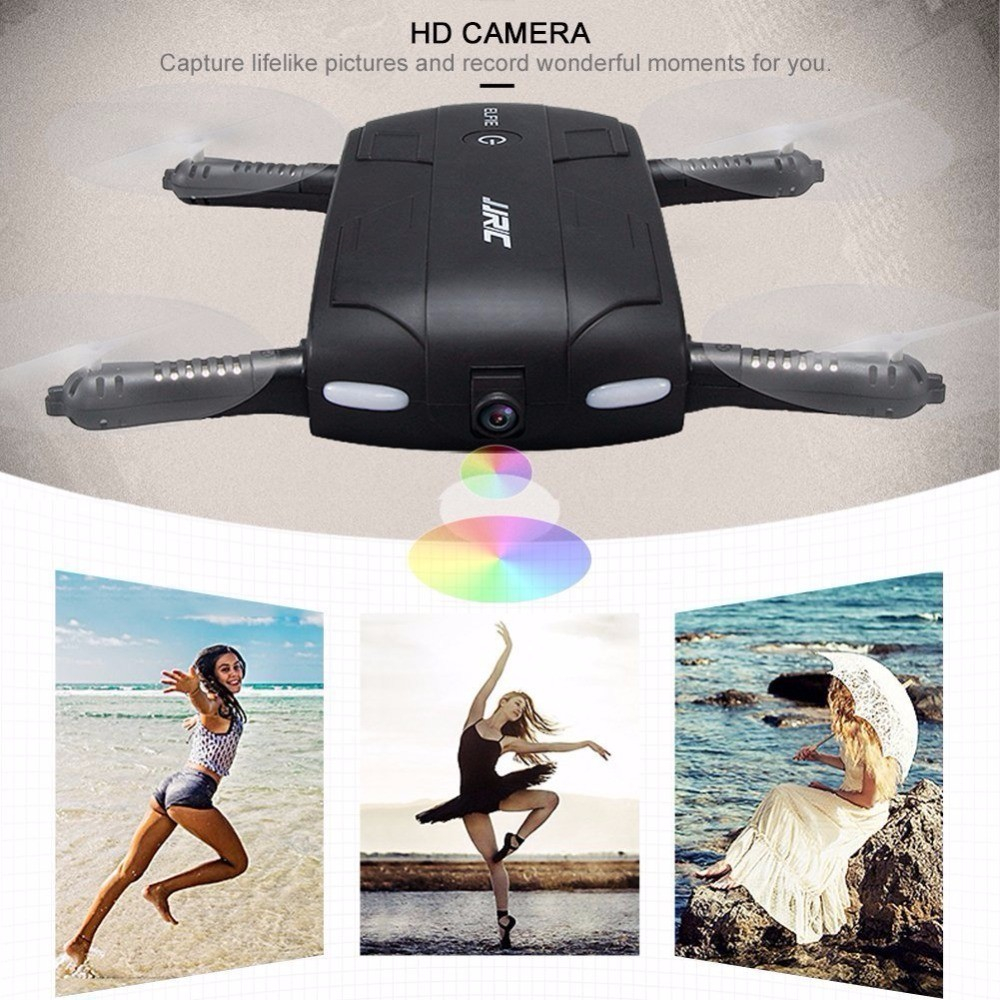 Original JJRC H37 foldable pocket selfie drone with camera, wholesale quadcopter toys