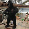 Outdoor park life size animatronic king kong for sale