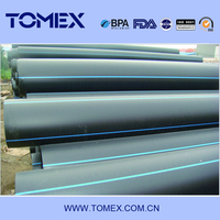 "2015 wholesales china manufacturing 12"" reliance hdpe pipe price list"