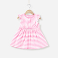 Mom and bab 2017 summer baby children clothes girl nice dress party wear factory price