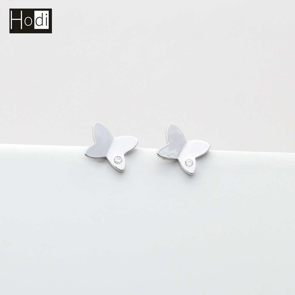 High Quality Fashion Animal Butterfly of Silver Gold Jewelry Earring designs new model earrings manufacturer