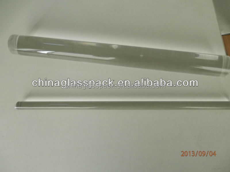 Clear Borosilicate Glass Rods