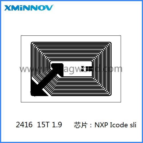 15693 passive rfid tag label inlay nfc sticker for asset management