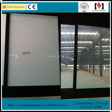 High quality 8mm 10mm 12mm 15mm 19mm clear frosted toughened for living room glass partition