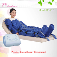 BS-69B Physical lymphatic air press therapy / lymphatic drainage massage slimming equipment