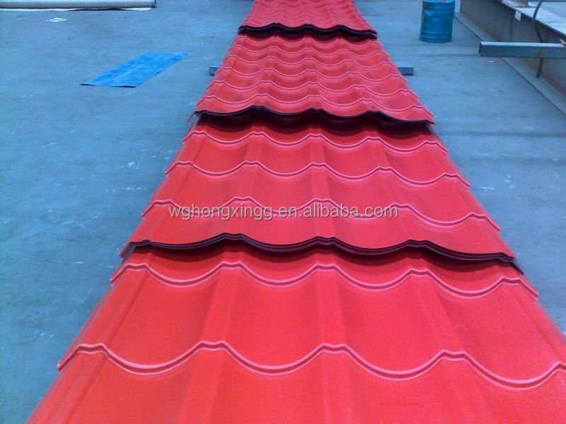 G90 Hot Dipped Galvanzied color Corrugated Steel Plate Carbon/ Alloy Q235 Q345 SS400