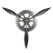 Fashion Wrought Black Gear Metal Large Wall Decor