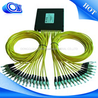 32 core fiber splitter cable distribution box CWDM System/PON Networks/CATV Links optic fiber splitter