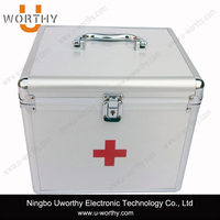 2015 New Products Small Aluminum Case Small Metal Tool Box First Aid Kit Tool Box