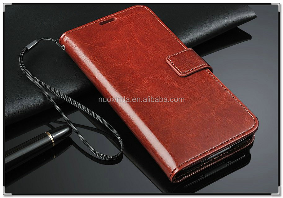 factory directly sale PU leather stand fuction cell phone case for samsung s5
