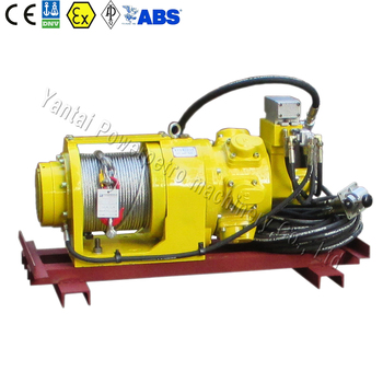 1Ton Remote Control Air Winch for Monkey Board