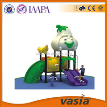 2015 New attractive design and playground equipment outdoor,Plastic material small outdoor children game euqipment