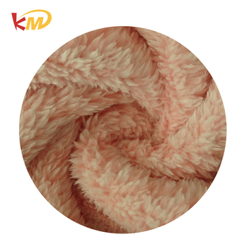 Factory produced best price of polyester tissue shu velveteen fabric