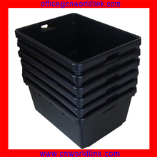 705*546*336mm Nestable & Stackable Seafood Plastic Crate