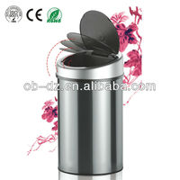 10G container Stainless steel automatic dustbin model