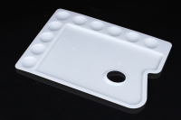 Rectangle Plastic Plates,Palette,Plastic Makeup Palette For Students or artisit,Drawing Paint Palette
