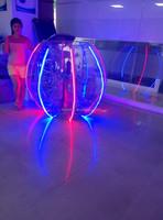 2015 Hot sale and high quality LED inflatable human bumper ball,kids body zorb for sales,body bumper ball for adult