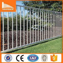 Discount! powder coated steel fence/Cheap wrought iron fence/fencing panels designs for sale