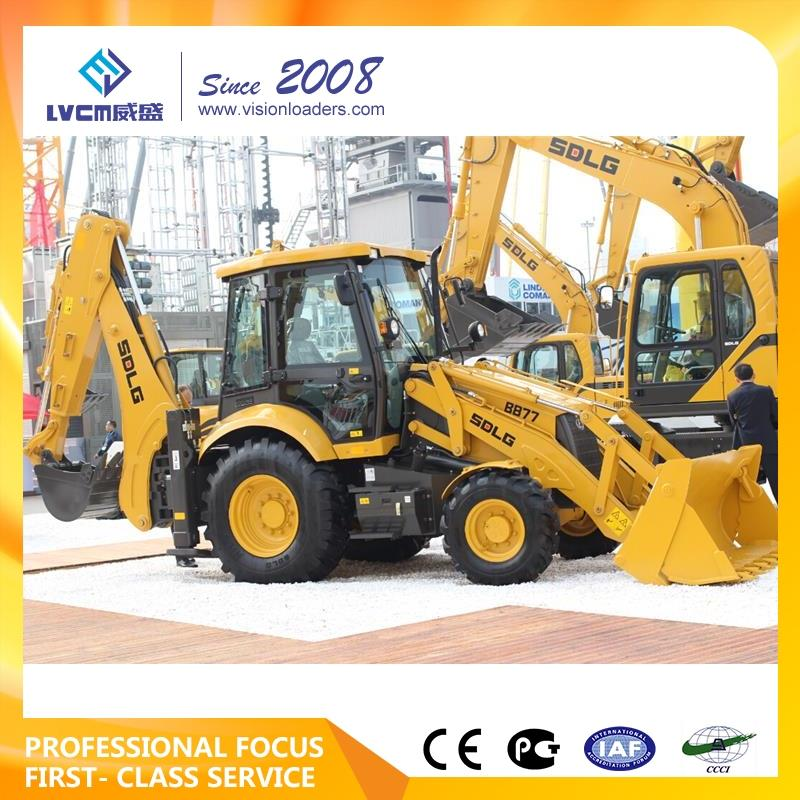 Brand new sdlg lg916 mini tractor backhoe loader sdlg original factory 80x95x90 for lg956 with high quality