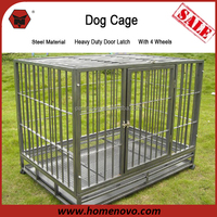Comprehensive Design High Quality Luxury Super Dog Cage With 4 Wheels