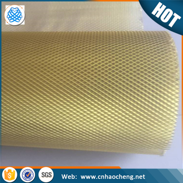 0.3mm-2mm thickness Aluminium Expanded Metal Grill Wire Mesh