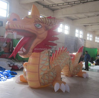customize inflatable chinese carnival dragon for events promotion