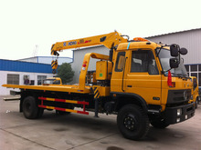 Dongfeng 190 hp rotator recovery truck for sale