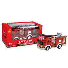 Interesting electrical battery operated car fire engine truck toys