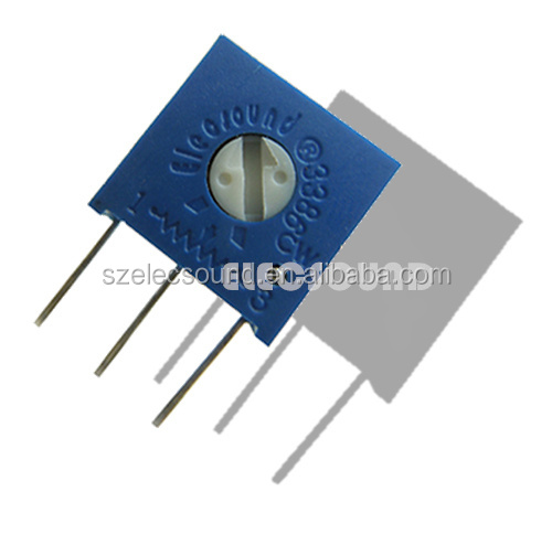 potentiometer manufacturers 3386W Cermet Trimming Potentiometer 3386 for Communication Devices