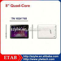 ATM7029 Quad core 1024*768 screen graphic tablet