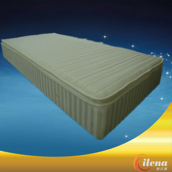 Pillow top memory foam with feet mattress(JM058)