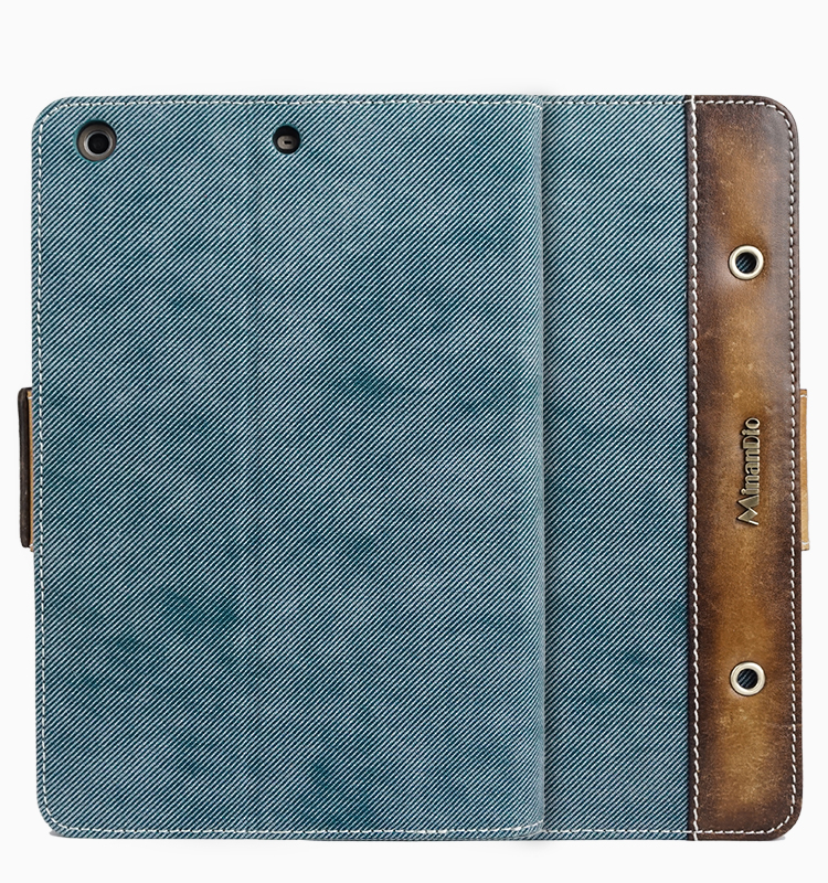 Minandio brand cowboy style RFID material pad case table for ipad mini