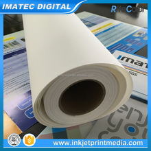 Large Format Roll Pigmented Digital Inkjet Poly Cotton Photo Printing Canvas 320gsm Matte Finish