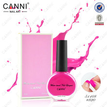 51108X New Nail Art CANNI 14ml Water Based Strippable Peel Off Raw Material China Glaze Wholesale Organic Nail Polish