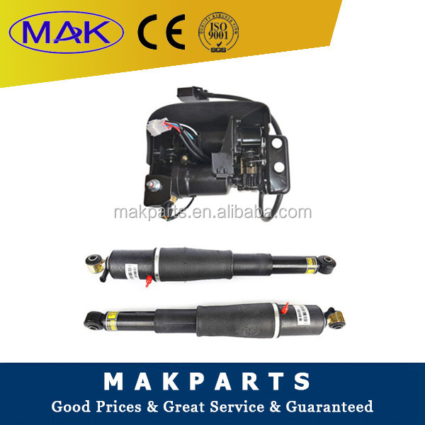 15254590 For Escalade Suburban Tahoe Yukon -- Pair Air Suspension shocks+Compressor Pump
