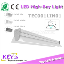 Top selling 30w 40w 60w 80w Suspended Surface Mount Recessed LINEAR LED LIGHT FITTINGS