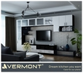 New Model Modern Customized TV Stand Cabinet With Showcase TV Hall Cabinet Designs