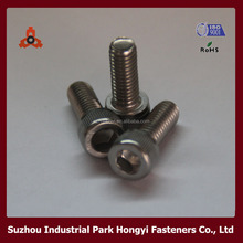 China Fastener Manufacturer DIN912 Hexagon Socket Head Stainless Steel Screw Cap