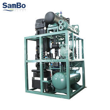 SamBo Integrated Design Large Capacity Industrial Ice Plant Crystal Edible Tube Ice Maker 20 Tons In China