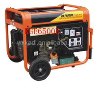 KGE6500E/AC Single Phase 5KW key start portable air-cooled petrol generator (KGE6500E)